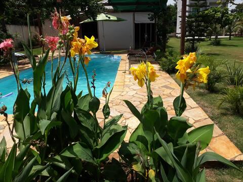 Spa casa inteira com piscina- aceita pets