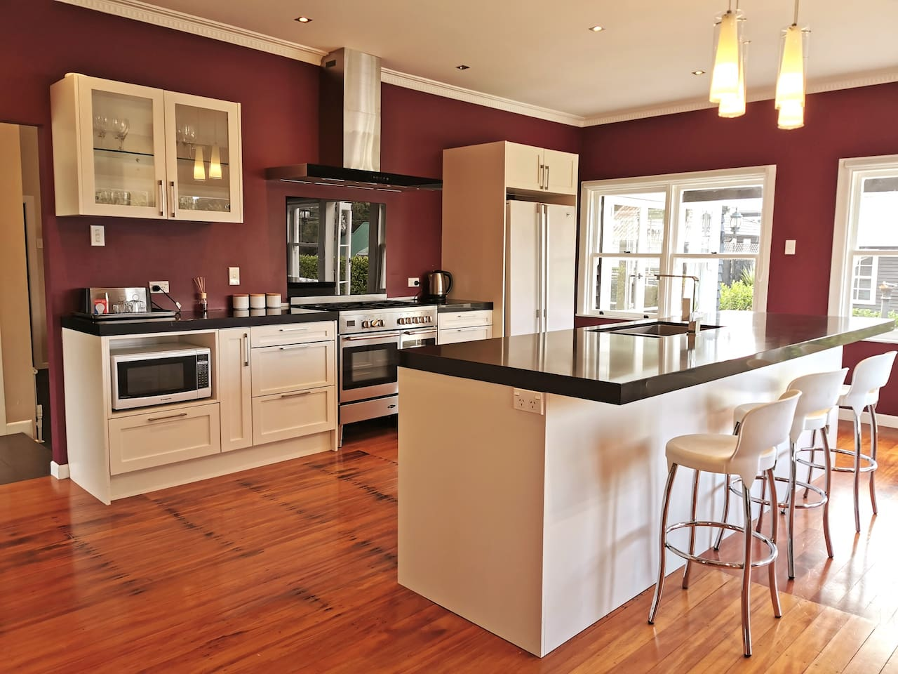 Kitchen - the hub of activity happens here