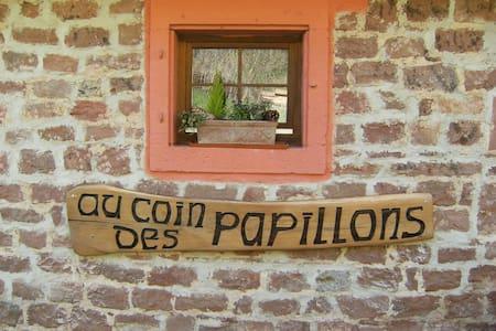 Gîte au Coin des Papillons***, en pleine nature