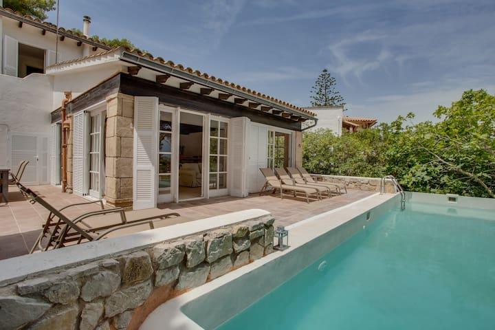 Vell Mari - nice house with pool - Font de Sa Cala - Rumah