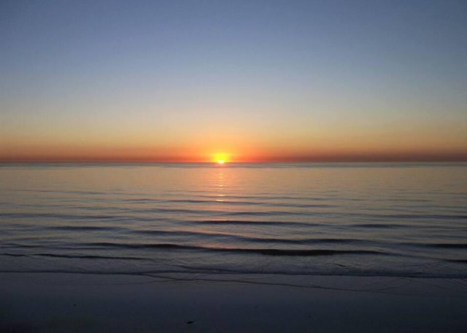 Experience amazing sunsets!