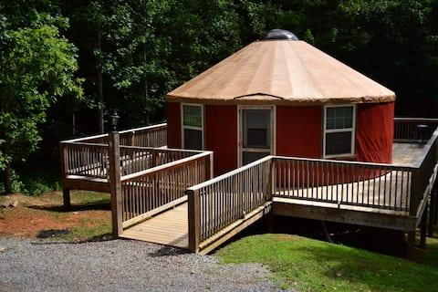 Redbud Yurt at Kairos Resort