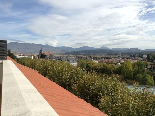 Piso céntrico con excelentes vistas en El Espinar