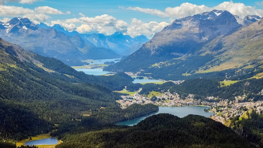 Live like a local in St Moritz