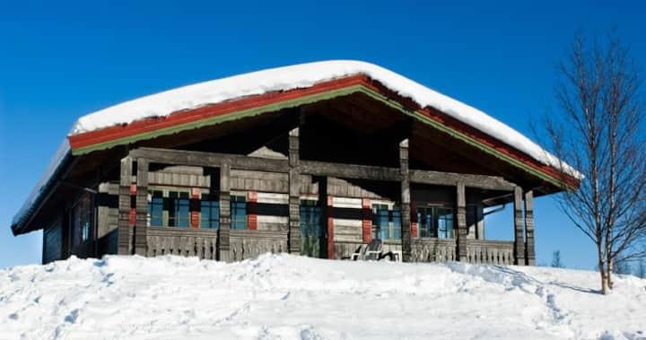 Fjellhovd 1 mountain logg cabin Hallingdal
