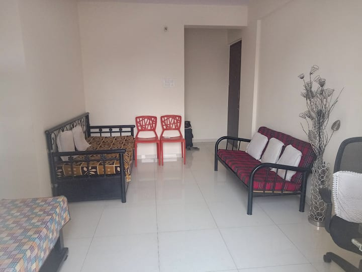 Furnished flat with all basic facilities