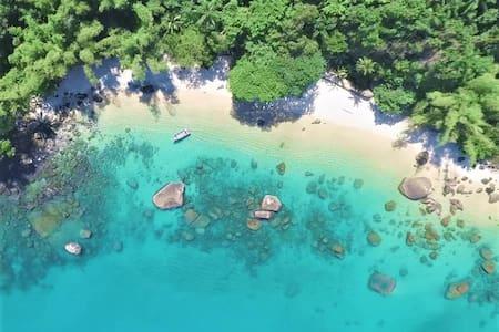 Cantinho no paraíso, Ubatuba - A metros da praia!!