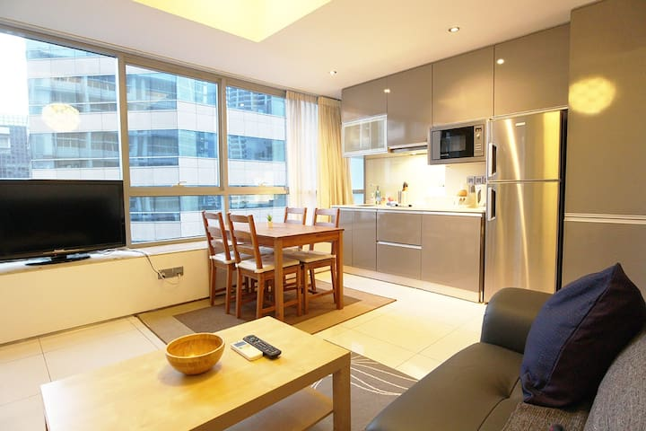 Leisure 1BR APT located 5 mins from Tg Pagar MRT