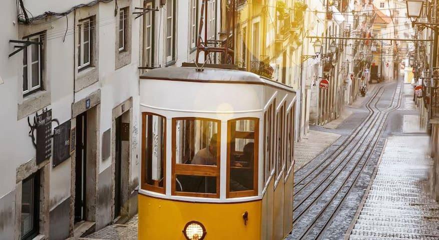 Bairro alto, center, Lisbon Lisbonne Lissabon