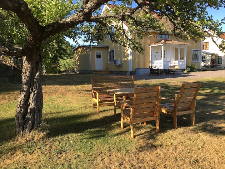 Family friendly in the country, close to Vimmerby