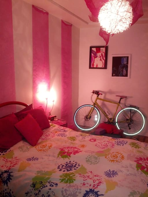 Room to store a bike or do yoga!