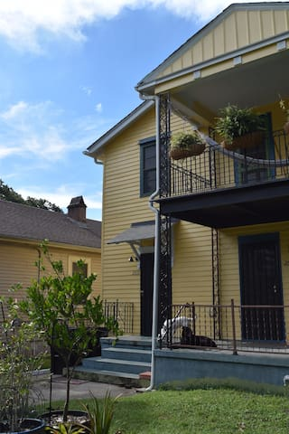 Inspirational home closer to the culture in NoLa
