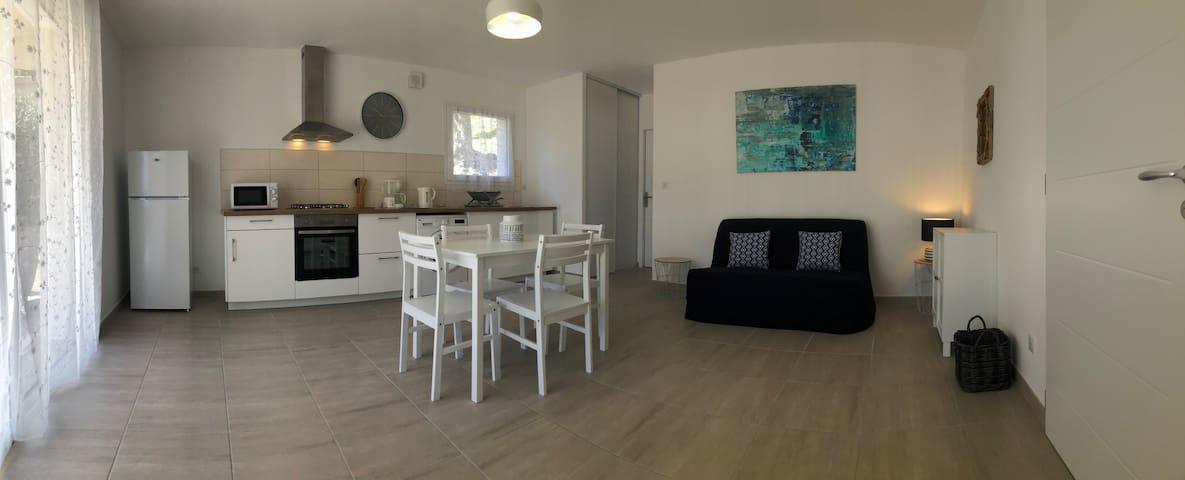 Rez-de villa à Ajaccio construction recente