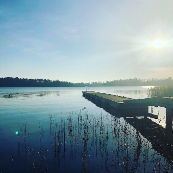 Boende med havsutsikt i centrala Norrtälje