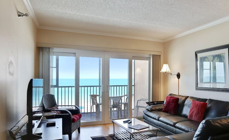 Villa Madeira 307 Paradise! Many updates in this awesome Beach Front condo!