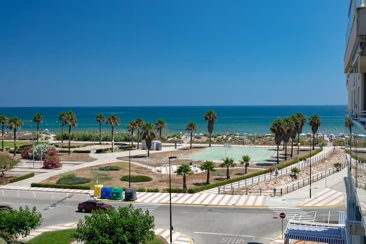 Vistas al Mediterráneo + piscina+AA+wifi