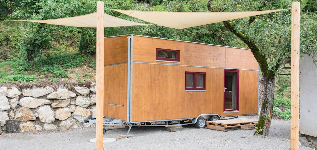 Tiny House am Rande des Nationalparks Kalkalpen
