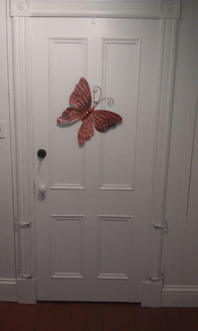 la chambre des papillons