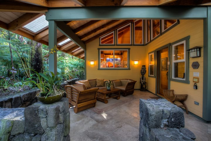 Volcano Mist Cottage ... a very private residence