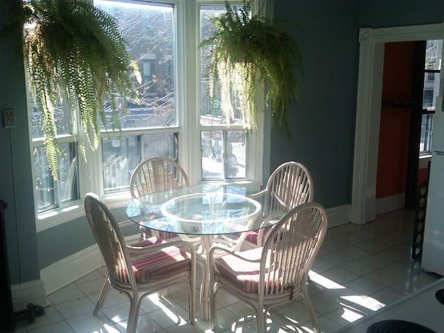 Large Private Room, Patio. In large beautiful Apt - Toronto - Apartment