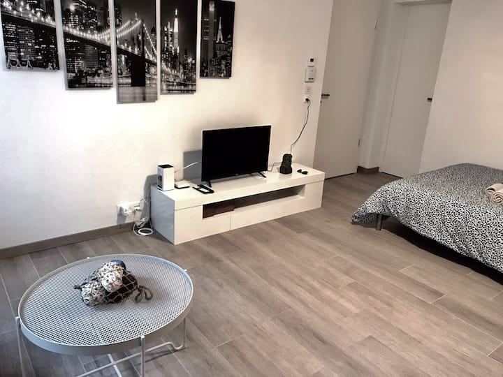 003-Superb Modern Studio 5min from UNIL LAUSANNE