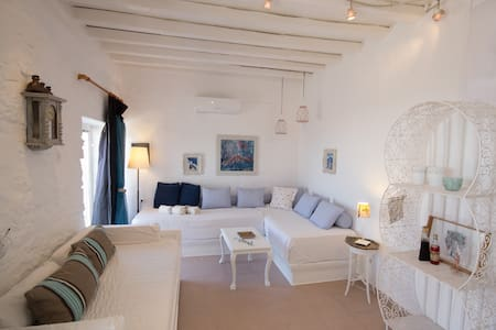 """Breeze"" sea view sweet home for 2-4  in Paros - Paros - Haus"
