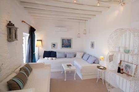 """Breeze"" sea view sweet home for 2-4  in Paros - Paros - Hus"