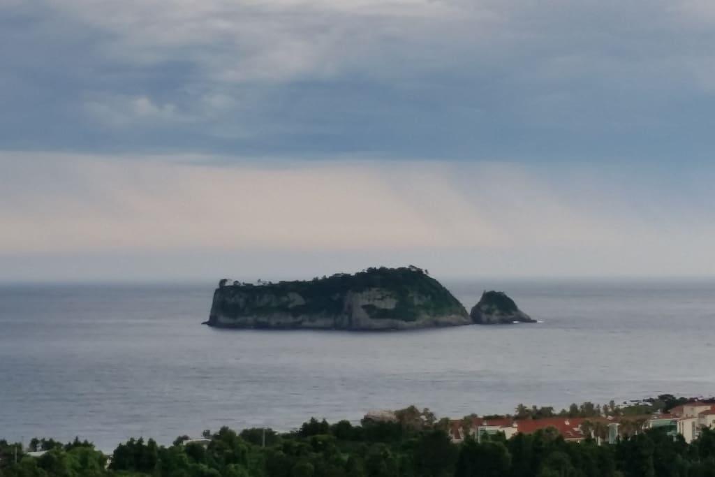 Tiger island & ocean view