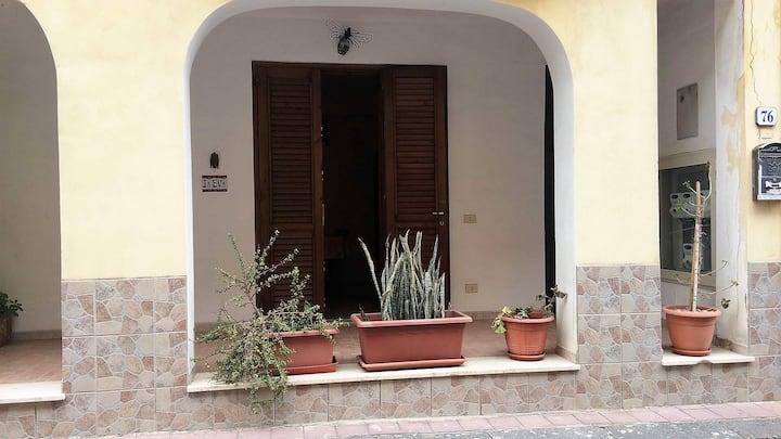 ★ Canneto Lipari: nice flat 20 m from the beach