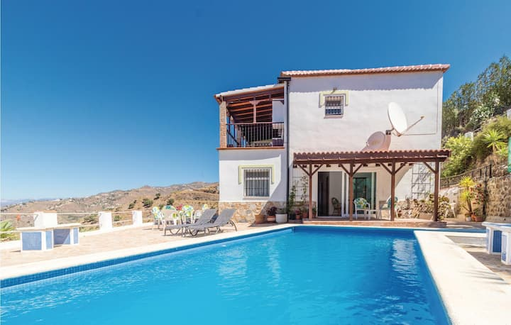Amazing home in Arenas with Outdoor swimming pool, WiFi and 3 Bedrooms