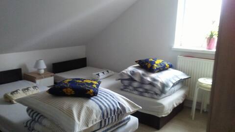 Pokój 3 osobowy Podstolice koło Wrześni