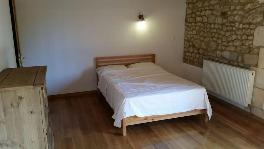 Double room ensuite. - Courpignac, Aquitaine-Limousin-Poitou-Charentes, FR - Talo