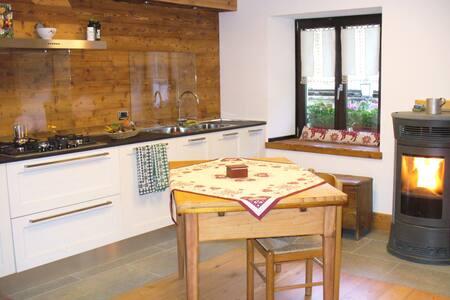 Accogliente monolocale ristrutturato nella natura - Aosta