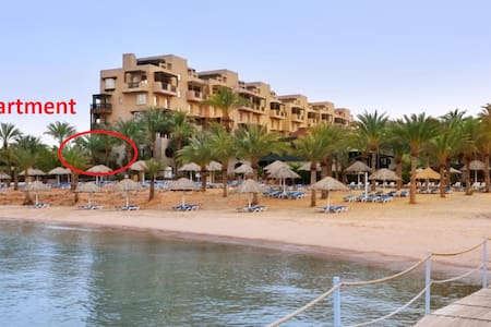 Beachfront Movenpick Apartment Priceless Sea View