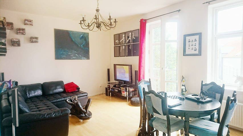 Artistic apartment right in the center of Kolding