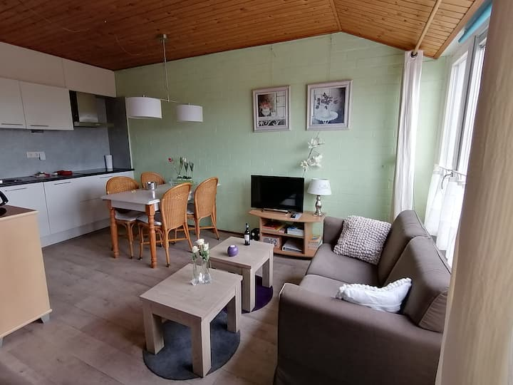appartement in centrum  nabij strand