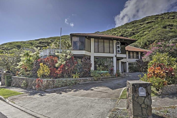 NEW! Serene & Tropical 1BR Honolulu Home w/ Patio!