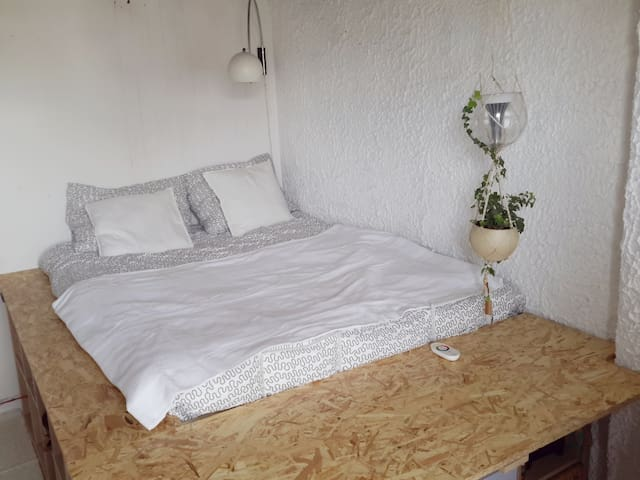 Cosy Peaceful Room 15 minutes from Central station - Rotterdam - Byt