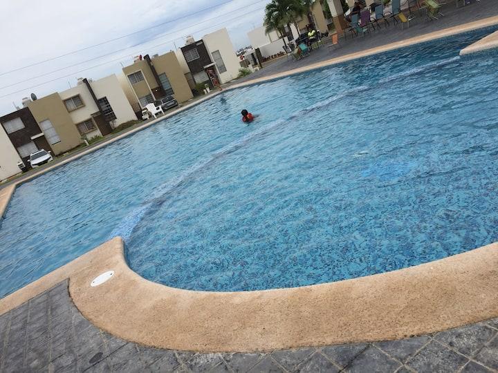 Vivienda independiente en Mazatlan Tranquilidad, seguridad y descanso... disfruta de tu familia!