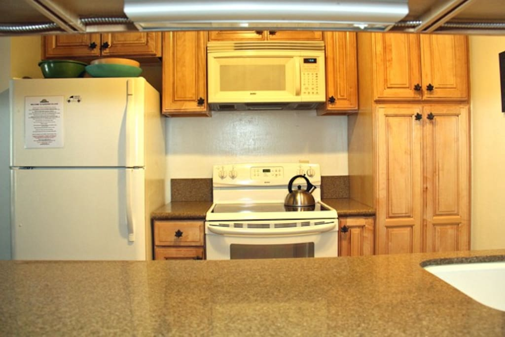 Mammoth Lakes Rental Sunshine Village 150 - Fully Equipped Updated Kitchen