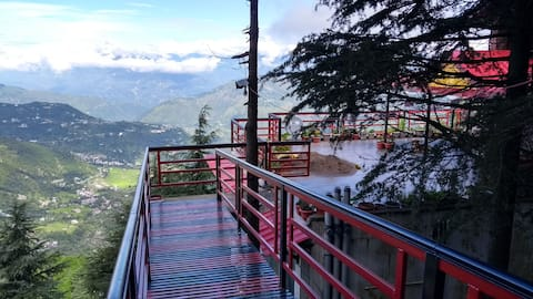 Dushaa Dalhousie. A view like nowhere else!.