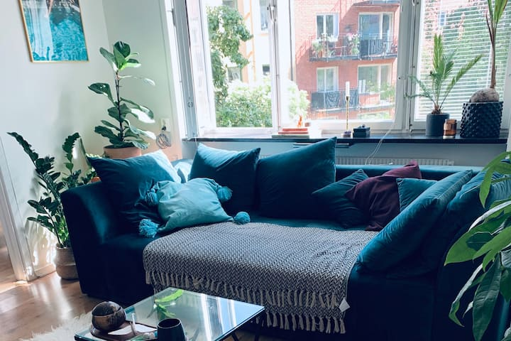 Cosy and bright apartment in Midsommarkransen