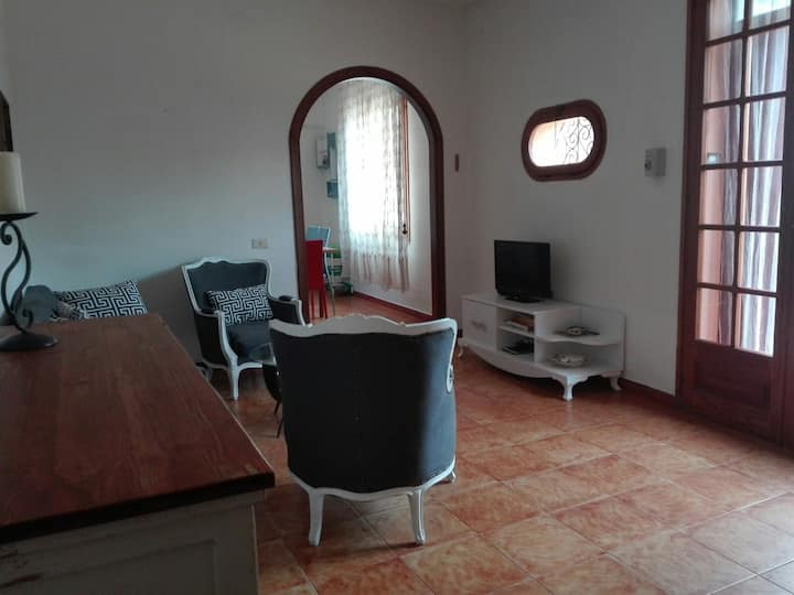 """2-storey Apartment """"Casa Diletta"""" in Centre with Terrace & Air Conditioning"""