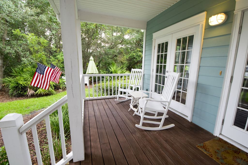 Absolutely Paradise ~ Seacrest Beach ~ Front Porch ~ Paradise Properties