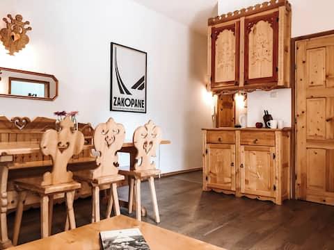 Zakopane - ruhige Wohnung in der Nähe von Biały Potok
