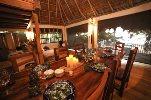 Secluded Beachfront Palapa
