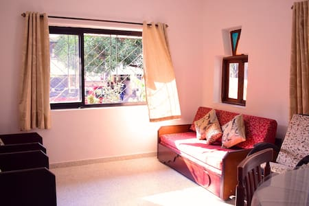 Comfy and airy 1bhk apartment 3km from Panjim city