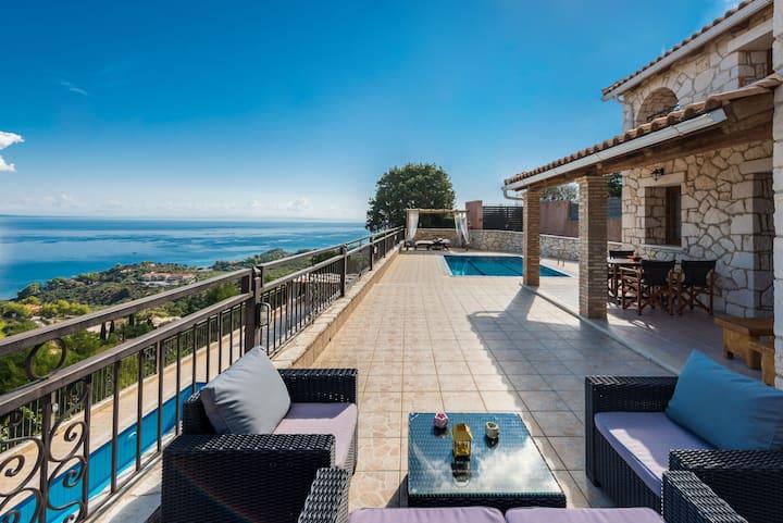 Socrates Three Bedroom Villa with Sea View