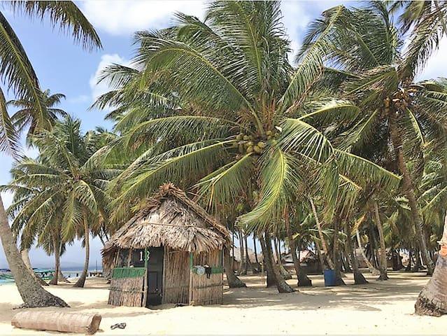 Private Cabin # 3 on Isla Aroma - San Blas Islands