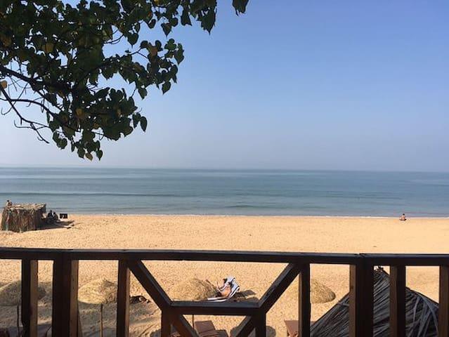 Cosy beach front cottage, agonda